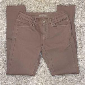 Uniqlo Mauve Cropped Jeans. Sz 23
